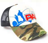 Кепка Zetrix PAL Cap PC-1602 Camo Beak, Black Mesh