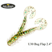 "Силиконовая приманка Bait Breath U30 Bug Flap 2.4"" (61 мм)"